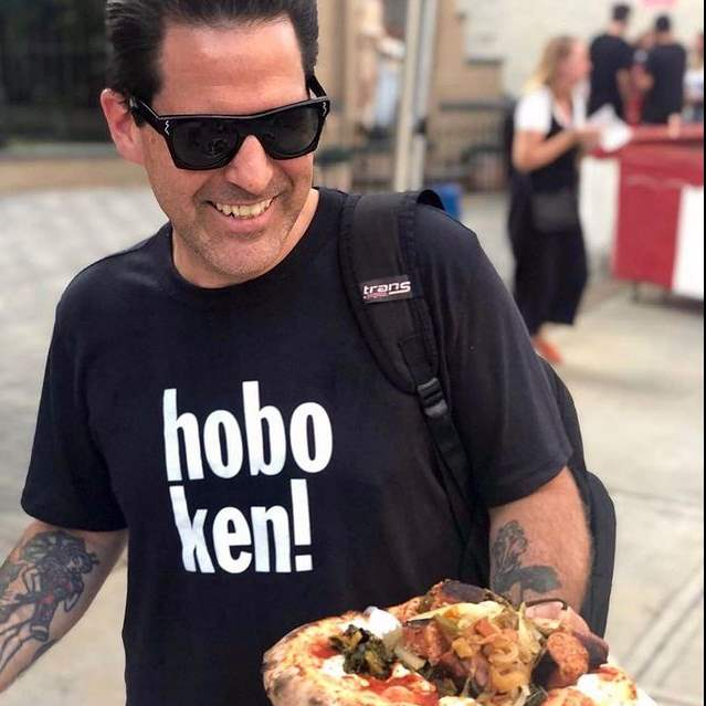 Hoboken chef Paul Gerard making happy food.
